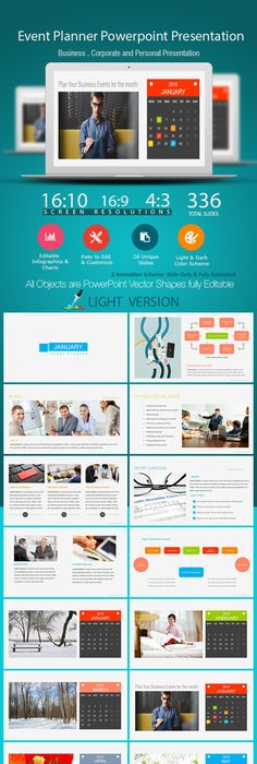 Graphic design portfolio template graphic design portfolios event planner power point presentation powerpoint templates toneelgroepblik Gallery