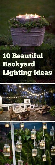 inspiring garden lighting tips. Backyard Lighting, Hacks, Outdoor Living, Lighting Tips And Inspiring Garden