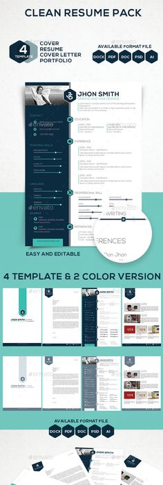 Free Cv Resume Templates  Html Psd  Indesign   Cv Resume