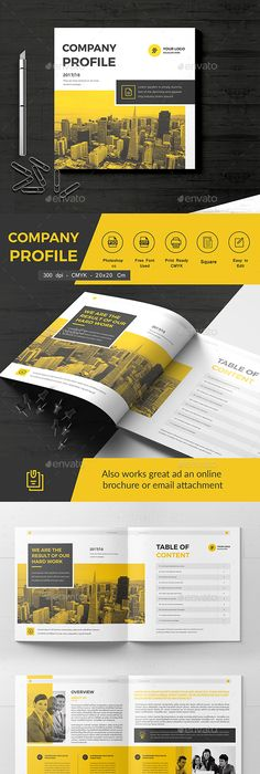 Example Of Company Profile Template Custom Aminulv  I Will Professional Bifold Brochure Trifold Brochure .