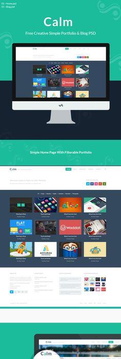 portfolio layout free psd download psd pinterest portfolio