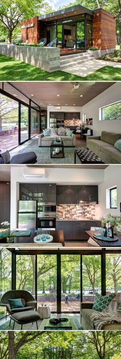 The Cousin Cabana: A 480 Sq Ft Cabin Near Austin, Texas, Designed For