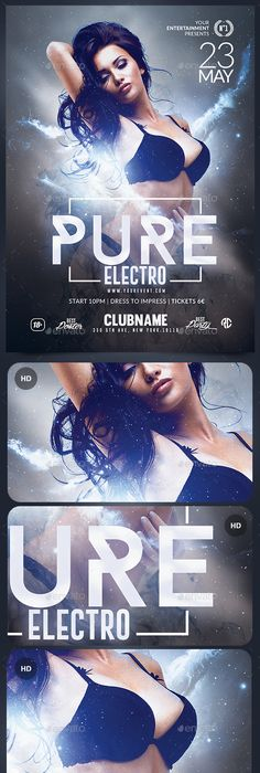 Neon Flyer  Neon Photoshop And Flyer Template