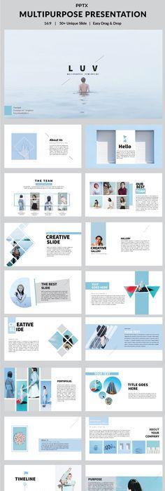 Nishimiya multipurpose powerpoint powerpoint presentation luv multipurpose powerpoint template toneelgroepblik Image collections