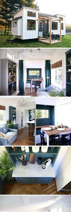 The pacific harmony tiny house from handcrafted movement