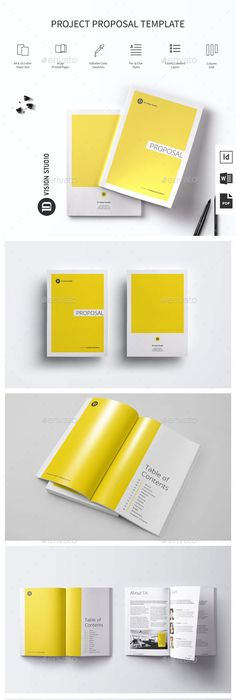 Proposal Template Microsoft Word Sleman Clean Proposal Template Volume 6  Proposal Templates .