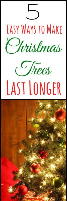 High Quality Wondering How To Make A Christmas Tree Last Longer? Use These 8 Tips For  Making Your Christmas Tree Last Longer To Keep Your Fresh Cut Tree Lookingu2026