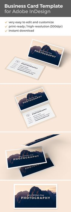 Beautiful multipurpose business card template photo sans serif business card template imagine reheart Image collections