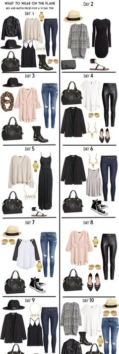 Look - 10 Day Packing List From Day to Night - livelovesara - Flashmode  Arabia - Leading Fashion Agency