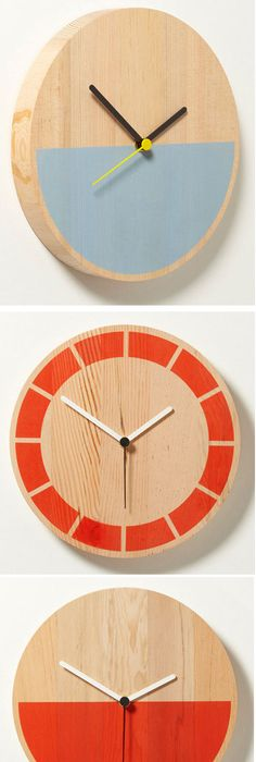 Great Primary Clocks By David Weatherhead U0026 Goodd ~~ Perfect For My Uncle · Clock  IdeasDiy ClockModern ...