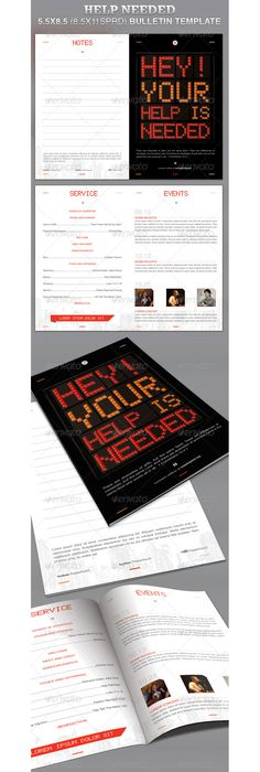 Shout Church Bulletin Template  Churches Template And Cd Cover