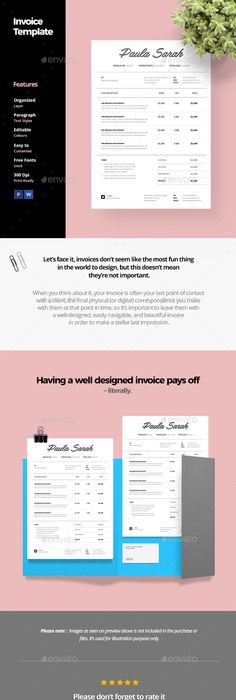 Invoice Template Invoice Behind The Scenes Pinterest - Lawn care invoice template pdf online lingerie store