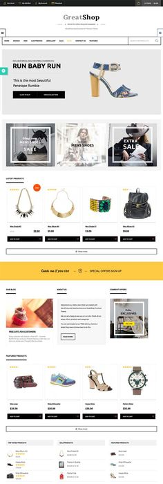 Fringe is #wordpress ecommerce #theme based on WooCommerce plugin ...