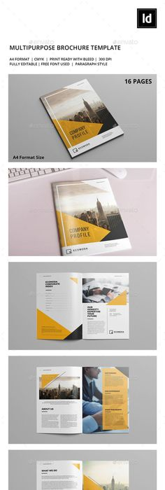 Bundle Company Profile Company profile, Brochure template and