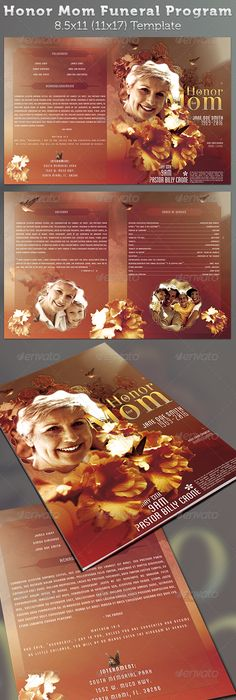 Child Funeral Program Template  Program Template Funeral And Template