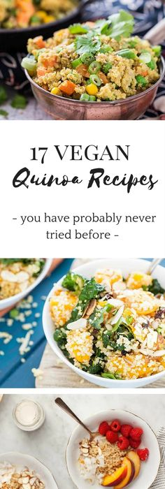 Vegan and gluten free challenge get a new healthy habit in 22 days 17 vegan quinoa recipes youve never tried before forumfinder Choice Image