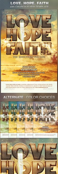 Fall Revival Flyer Template  Flyer Template Template And