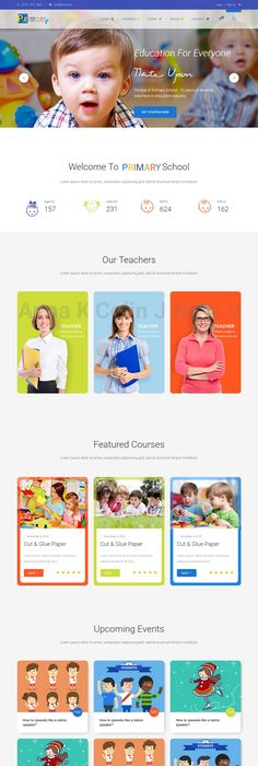 Professional Educational Psd School Flyer Templates