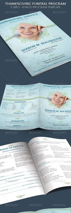 Funeral Program Template  Free Download Lds Funeral Program