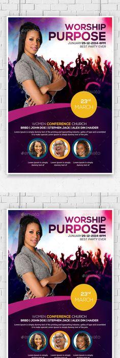 Prayer Breakfast Church Flyer Template  Prayer Breakfast Flyer