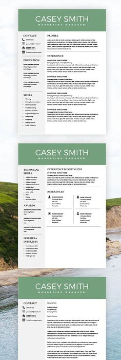 2 Page Resume Examples Magnificent Teacher Resume Template For Word & Pages  1 2 And 3 Page Resume .