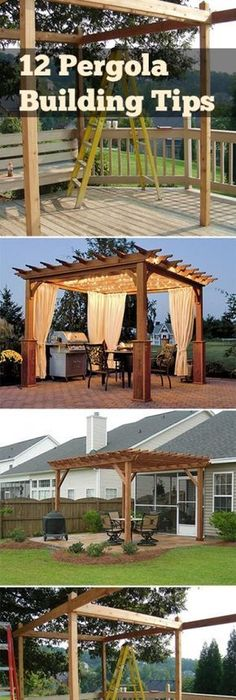 Backyard Deck Design with Arch