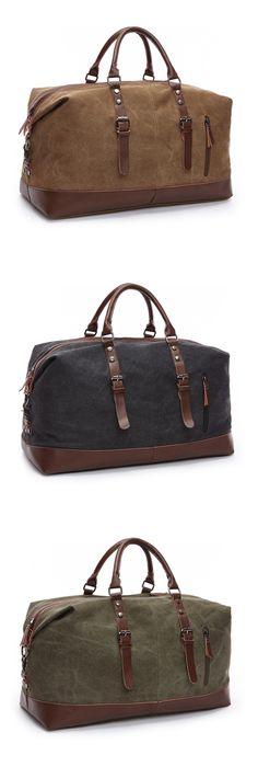 ... quality design a5f19 b25c0 Fashion Mens Backpack Vintage Canvas School Bag  Mens Travel Bags Large Capacity ... b7a66821633ec