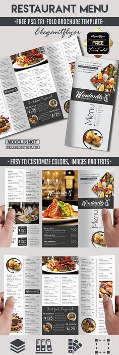 Editable Restaurant Menu Template  Teaching Esl
