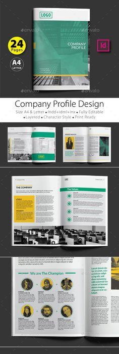 company profile design template v 1 company profile design