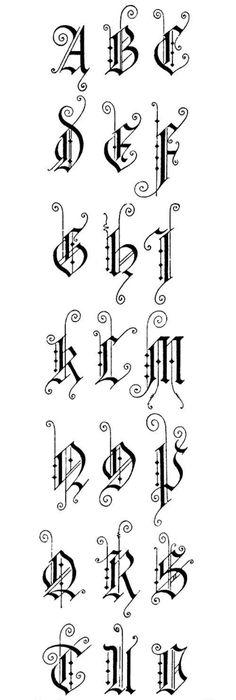 calligraphie  chanceli u00e8re fine  alphabets  lettres  stages et cours  mail