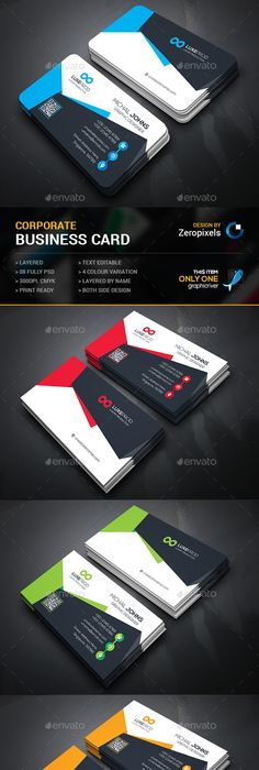 Corporate business card template psd business card templates corporate business card template psd business card templates pinterest corporate business card templates and business cards reheart Images