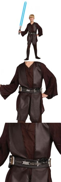 Boys 80913 Anakin Skywalker Costume Kids Star Wars Jedi Halloween Fancy Dress -u003e BUY  sc 1 st  Pinterest & Boys 80913: Jedi Costume Kids Deluxe Star Wars Halloween Fancy Dress ...