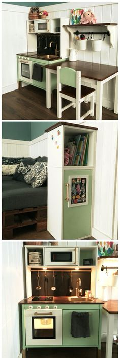 Glammed up Ikea play kitchen - #ikeahack Because It\u0027s Awesome One - küchen ikea gebraucht