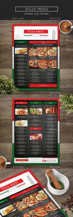 Pizza Menu Template   Free Psd Eps Documents Download  Free