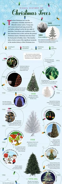 Here is some interesting knowledge on Christmas Trees used around