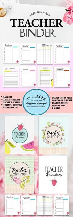 Free Printable Student Binder: Over 25 Excellent Planning Pages ...