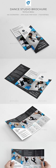 Financial Consulting Trifold Brochure Corporate Brochure