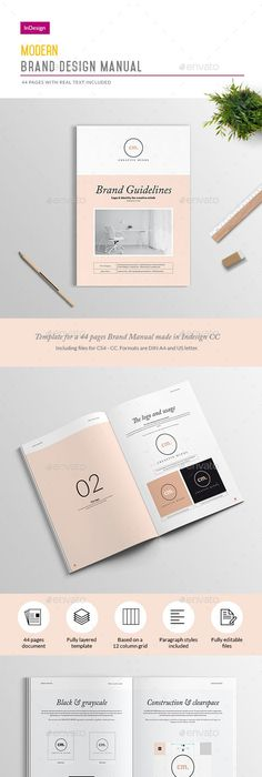 Studio Branding Guidelines Template For Adobe Indesign We And The