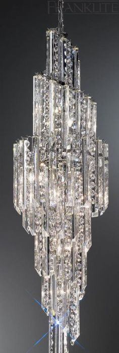 Franklite lightings valentina range is available from luxury lighting beautiful italian angle cut crystal