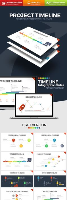Project Timeline PowerPoint Template  presentationload www     Project Timeline PowerPoint Template
