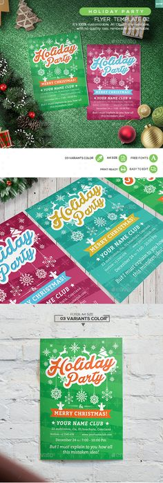 Spring Break Flyer Template Flyer template, Template and Party flyer
