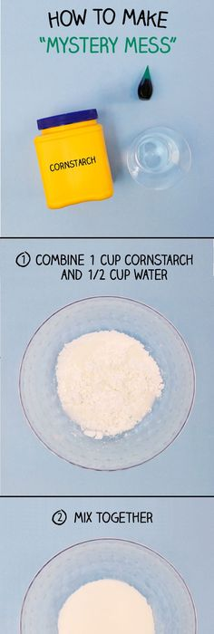 Ingredients: 1 cup sand mixed with 1/2 tbsp cornstarch. Add 1 tbsp ...