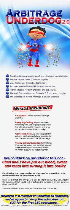 Get Arbitrage Underdog Reloaded Free Download #Fiverr #Craigslist - fresh blueprint 3 free download