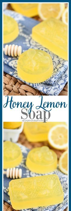 Honey Lemon Soap   Easy DIY Honey Lemon Soap Recipe Made With Lemon  Essential Oil. This Soap Smells Amazing And Makes A Great Handmade Gift  Idea!