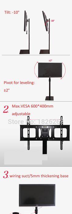 32 70 Inch LCD LED Plasma Monitor TV Mount Floor Stand Tilt Swivel AD  Display