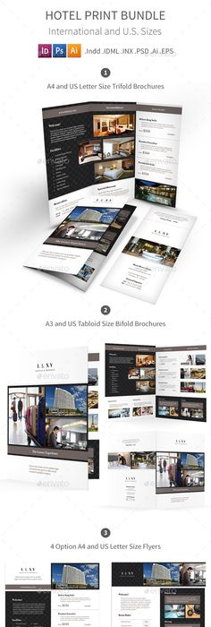 Clean Restaurant Brochure #GraphicRiver Description Clean Restaurant ...