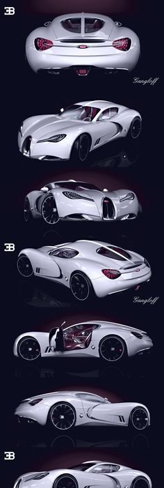 Bugatti Gangloff Concept Car, Invisium By Paweł Czyżewski, Via Behance