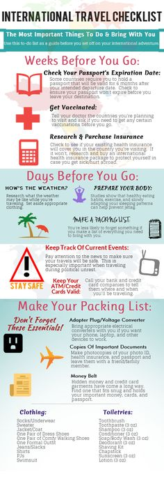 The Ultimate Guide To Travel Packing Infographic  Business