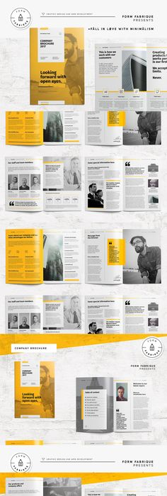 Infographic Annual Report Template Pdf Indd Brochure Design