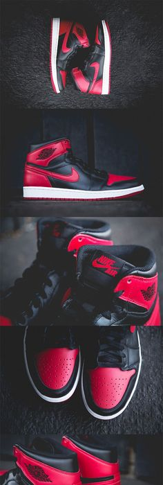 "Second fav pair of retro Js--Air Jordan 1 Retro - ""Bred"""